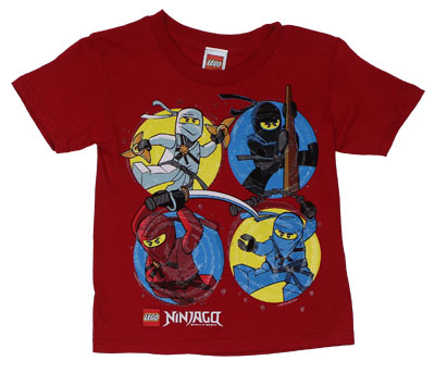 LEGO Ninjao Juvenile T-shirt