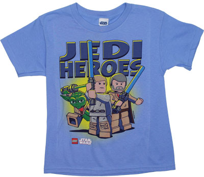Jedi Heroes - LEGO Star Wars Juvenile T-shirt