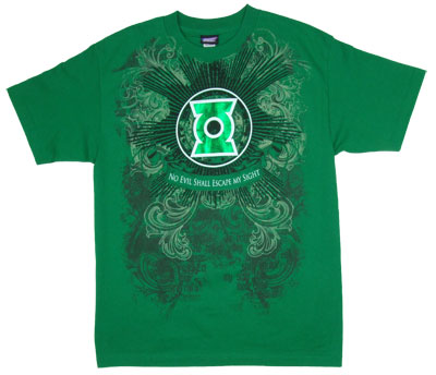 No Evil Shall Escape My Sight - Green Lantern - DC Comics T-shirt
