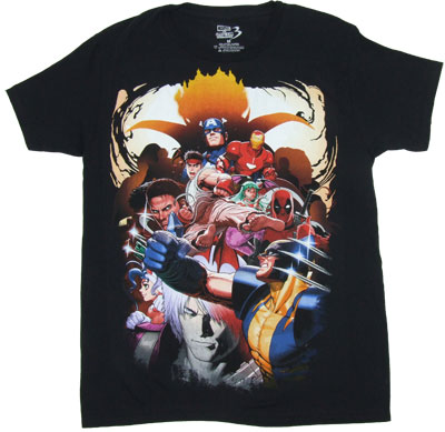 Big Group - Marvel Vs. Capcom Sheer T-shirt
