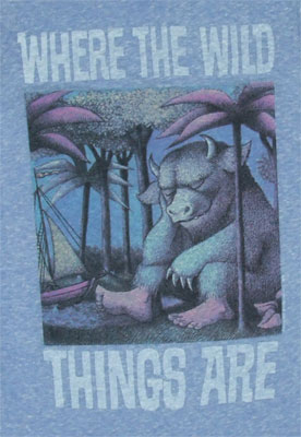 Wild Things On Blue - Junk Food Women's T-shirt