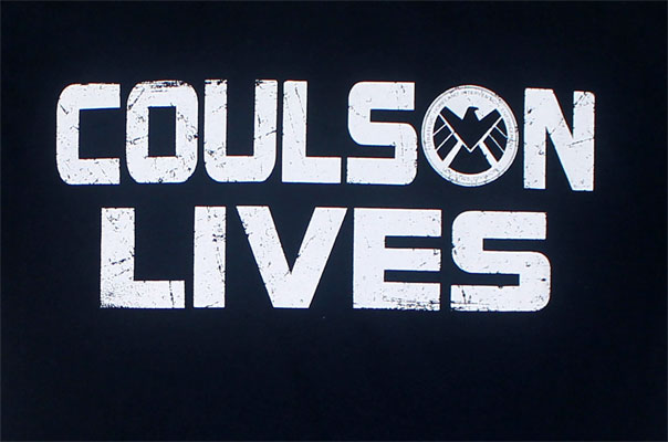 Coulson Lives - Agents Of S.H.I.E.L.D. T-shirt