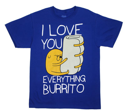 Everything Burrito - Adventure Time T-shirt