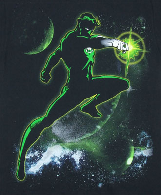 Shilhouette In Space - Green Lantern - DC Comics T-shirt