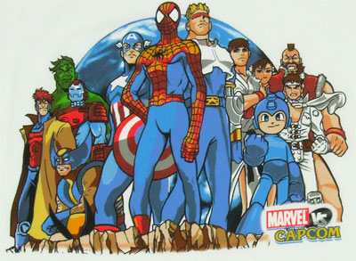 Group Stance - Marvel Vs. Capcom Sheer T-shirt