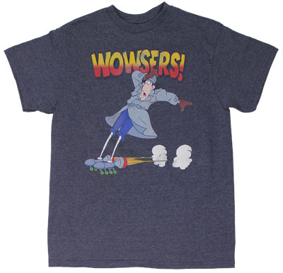 Wowsers! - Inspector Gadget T-shirt