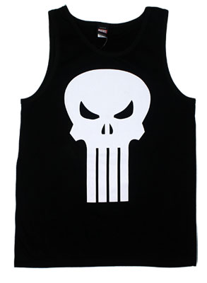 Punisher Logo - Marvel Comics Tank Top