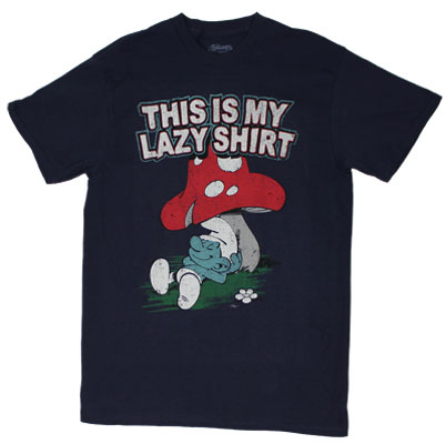 This Is My Lazy Shirt - Smurfs T-shirt