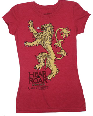 Hear Us Roar - Game Of Thrones Juniors T-shirt
