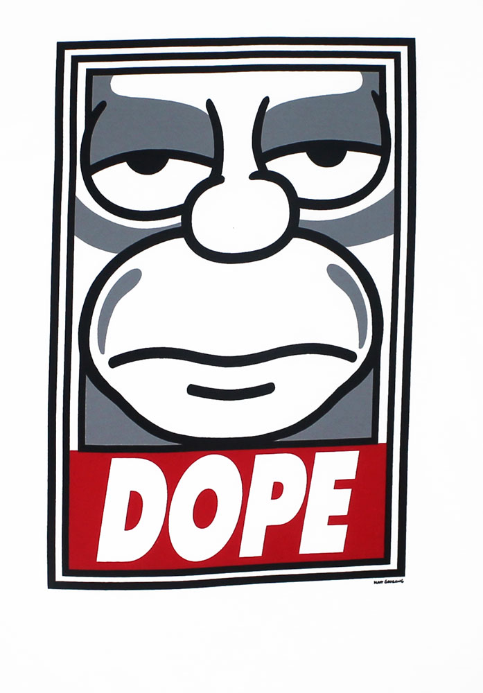 Dope Homer - Simpsons T-shirt