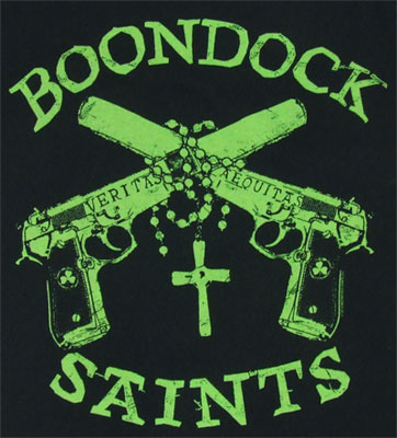 Rosary And Guns - Boondock Saints T-shirt