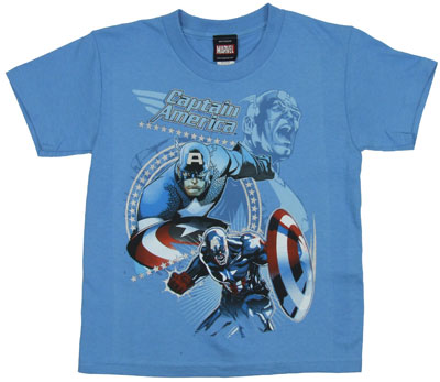 Courageous Captain - Marvel Comics Juvenile T-shirt