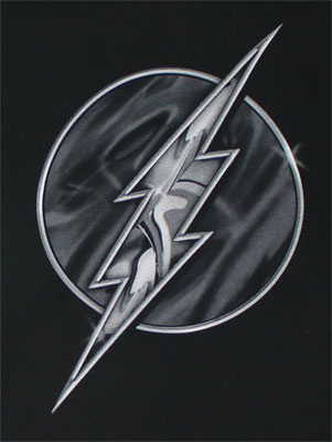 Flash Crome Logo - DC Comics T-shirt