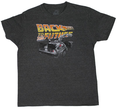 Vintage Delorean - Back To The Future Sheer T-shirt