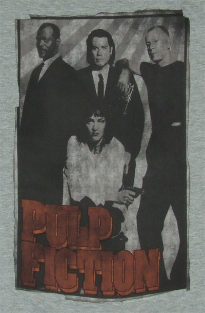 Group Shot - Pulp Fiction Sheer T-shirt