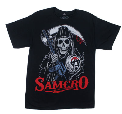 Stylized Reaper - Sons Of Anarchy T-shirt