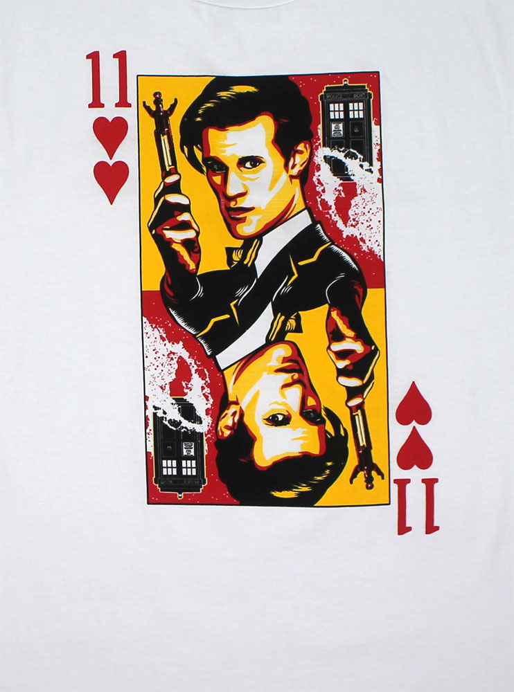 Playing Card - Dr. Who T-shirt