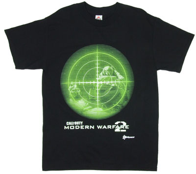 Scope - Call Of Duty Modern Warfare 2 T-shirt