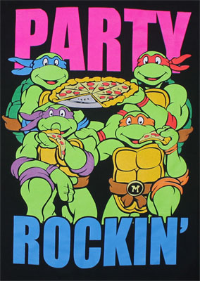 Party Rockin - Teenage Mutant Ninja Turtles T-shirt
