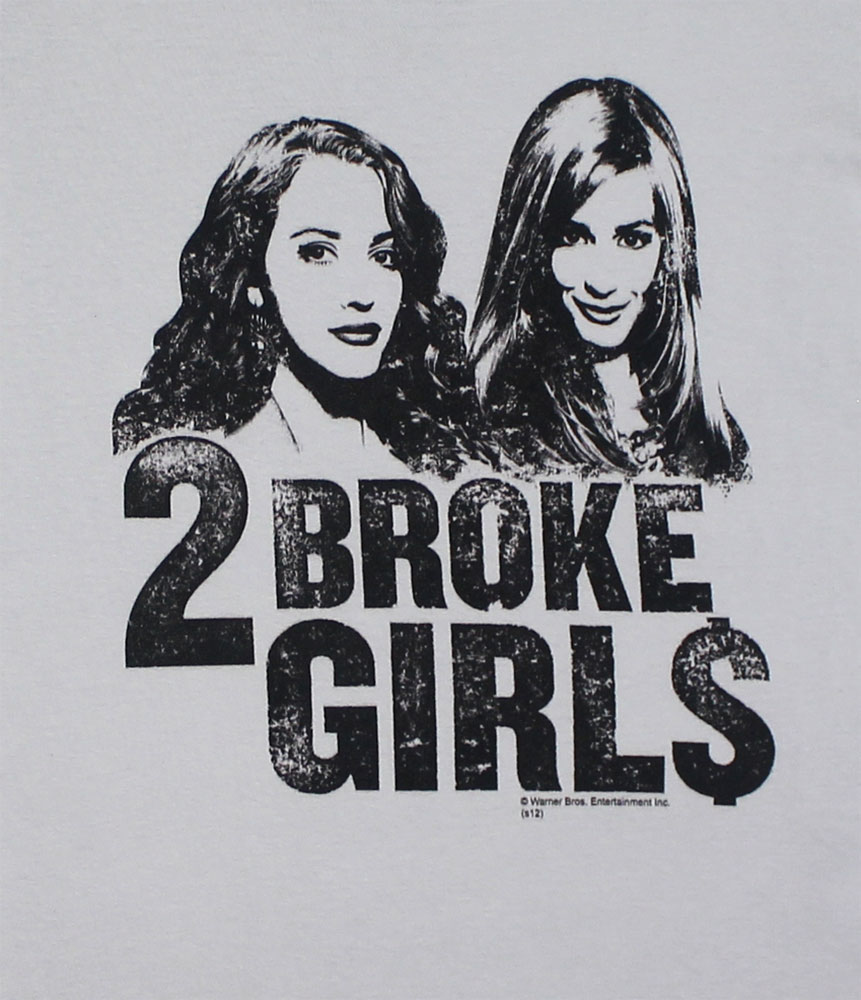 Girl$ - Two Broke Girls Sheer Womens T-shirt