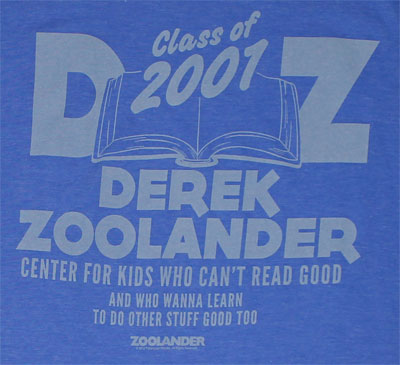 Center For Kids Who Can't Read Good - Zoolander Sheer T-shirt