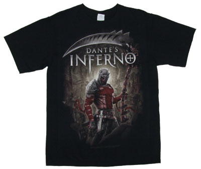Dante With Scythe - Dante&#039;s Inferno T-shirt