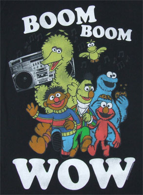 Boom Boom Wow - Sesame Street Sheer Women's T-shirt