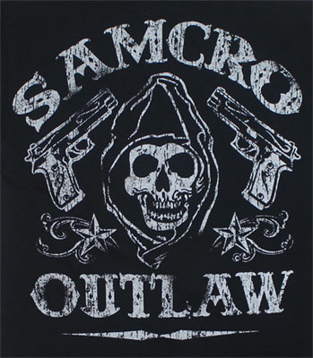 SAMCRO Outlaw - Sons Of Anarchy T-shirt