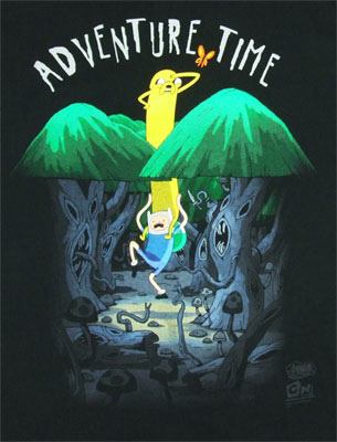 Spooky Forest - Adventure Time T-shirt