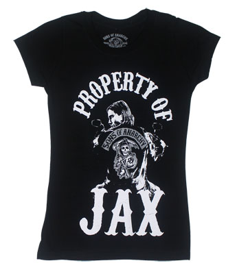 Property Of Jax - Sons Of Anarchy Juniors T-shirt
