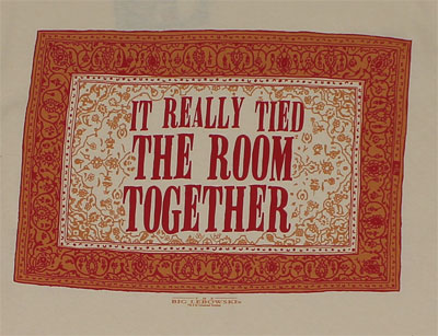 It Really Tied The Room Together - Big Lebowski T-shirt