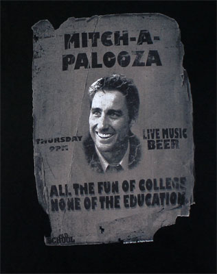 Mitch-A-Palooza - Old School T-shirt