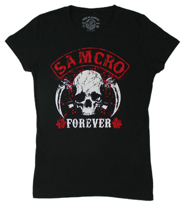 Samcro Forever - Sons Of Anarchy Sheer Women&#039;s T-shirt