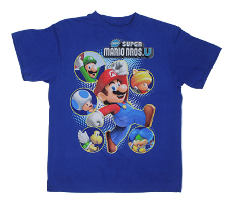 New Super Mario Bros. U - Nintendo Youth T-shirt