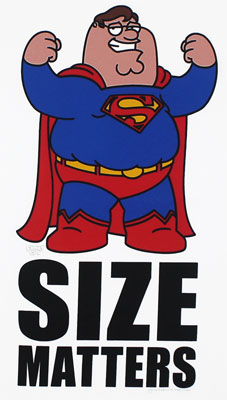 Size Matters - Family Guy T-shirt