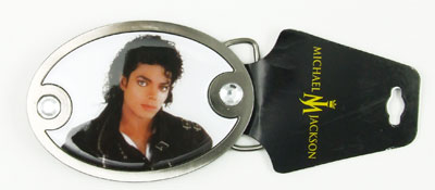 Bad - Michael Jackson Belt Buckle