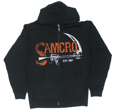 SAMCRO Authentic - Sons Of Anarchy Hooded Sweatshirt