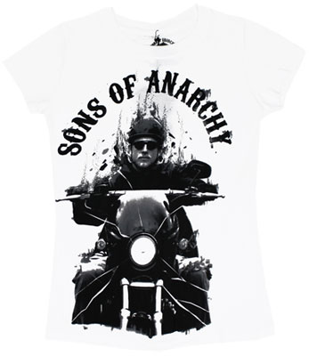 Onward Jax - Sons Of Anarchy Sheer Women's T-shirt