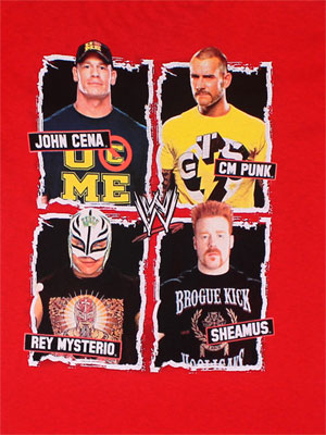 Four Dudes - WWE Juvenile And Youth T-shirt