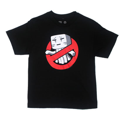 Ghastbusters - Minecraft Youth T-shirt