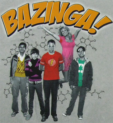 Bazinga Group - Big Bang Theory Sheer Women's T-shirt