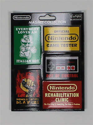 Nintendo Magnet Set