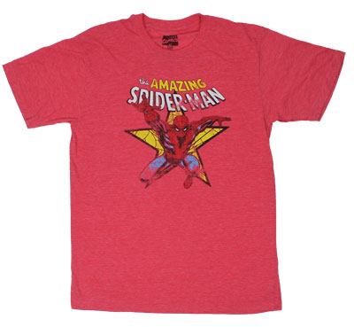 Star - Marvel Comics Sheer T-shirt