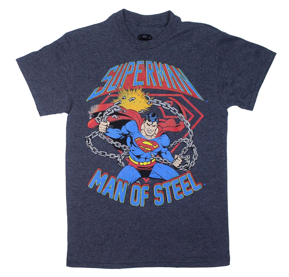 Man Of Steel - DC Comics T-shirt