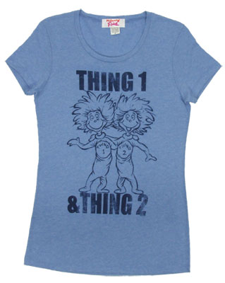 Thing 1 & Thing 2 - Dr. Seuss Sheer Women's T-shirt