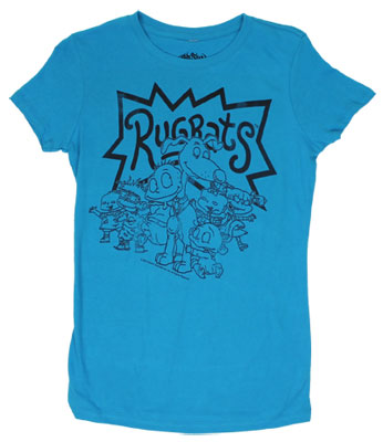 Rugrats Sheer Women's T-shirt