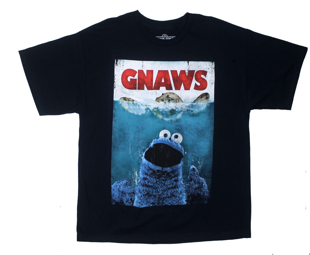 Gnaws - Sesame Stree T-shirt