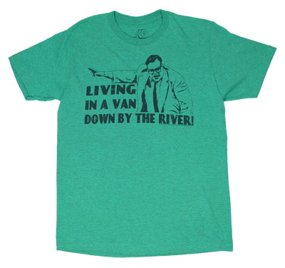 Living In A Van Down By The River - Saturday Night Live Sheer T-shirt