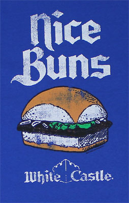 Nice Buns - White Castle T-shirt