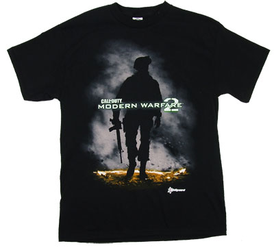 Soldier Silhouette - Call Of Duty Modern Warfare 2 T-shirt